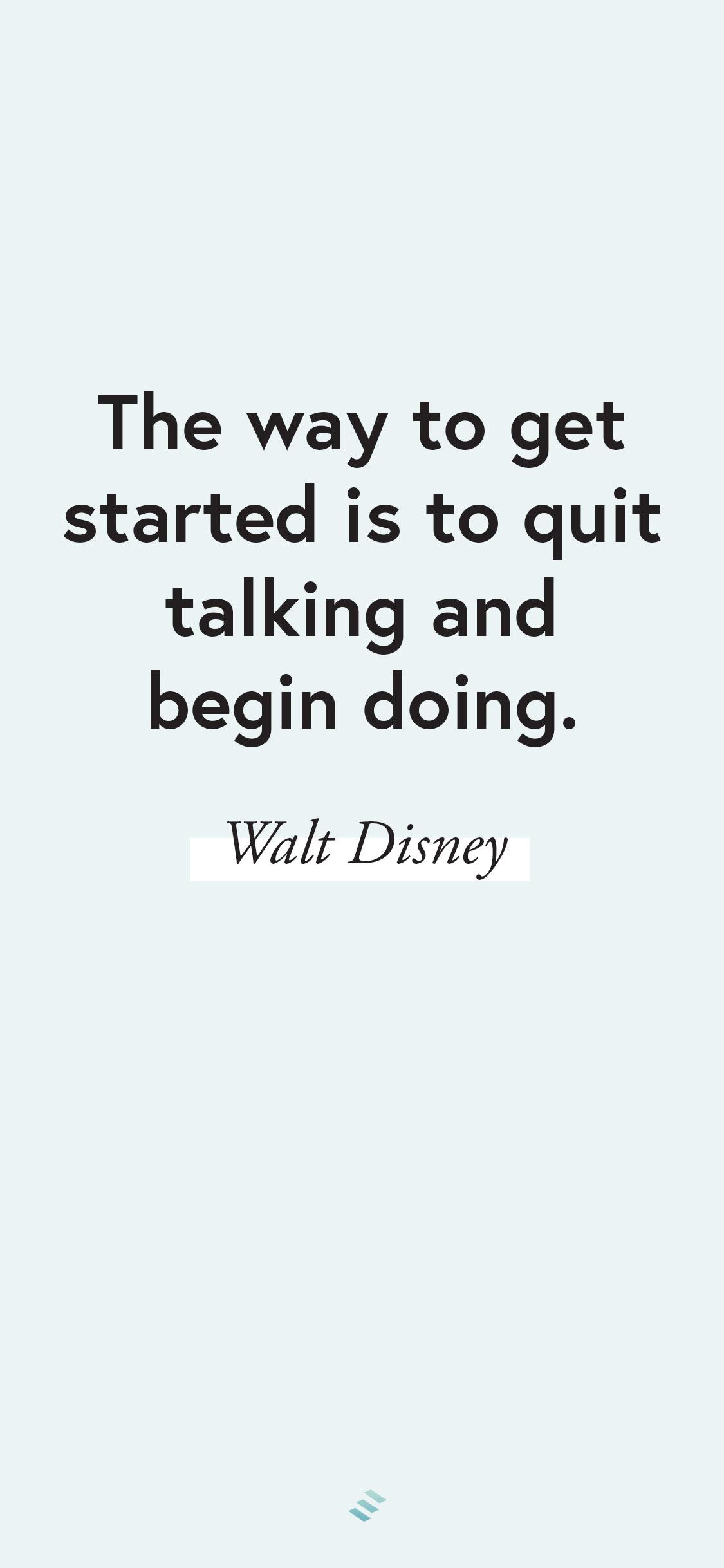 a walt disney quote wallpaper