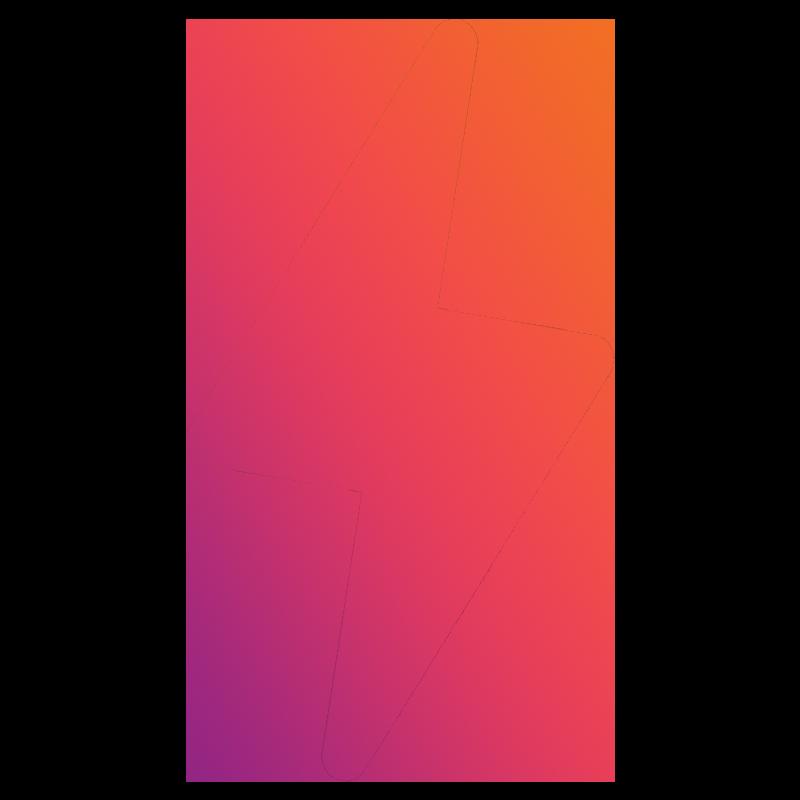 logo that looks like a lightning bolt