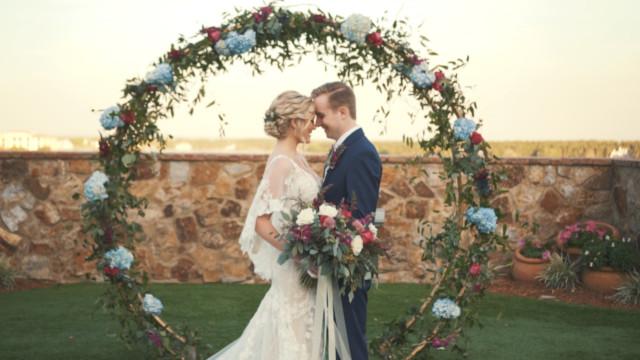 Jimmy and Mckenzie wedding film Orlando