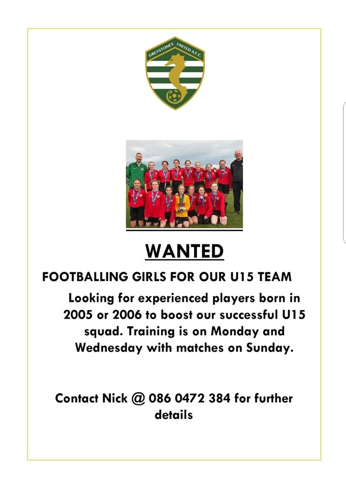 New Girls Wanted