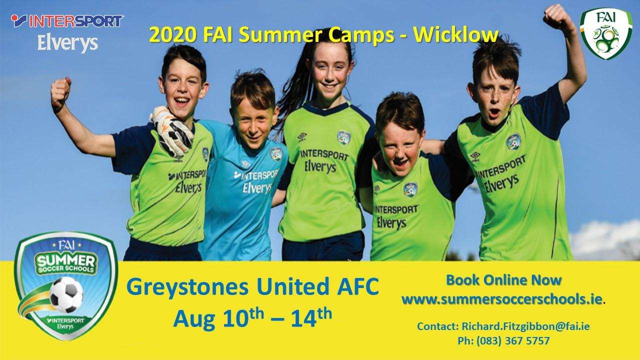 FAI 2020 Summer Camp
