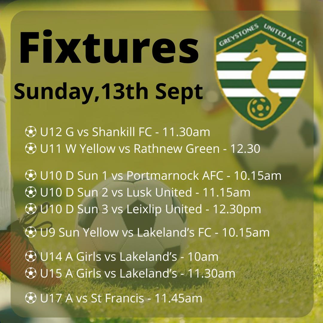 Home Small Sided Fixtures Saturday