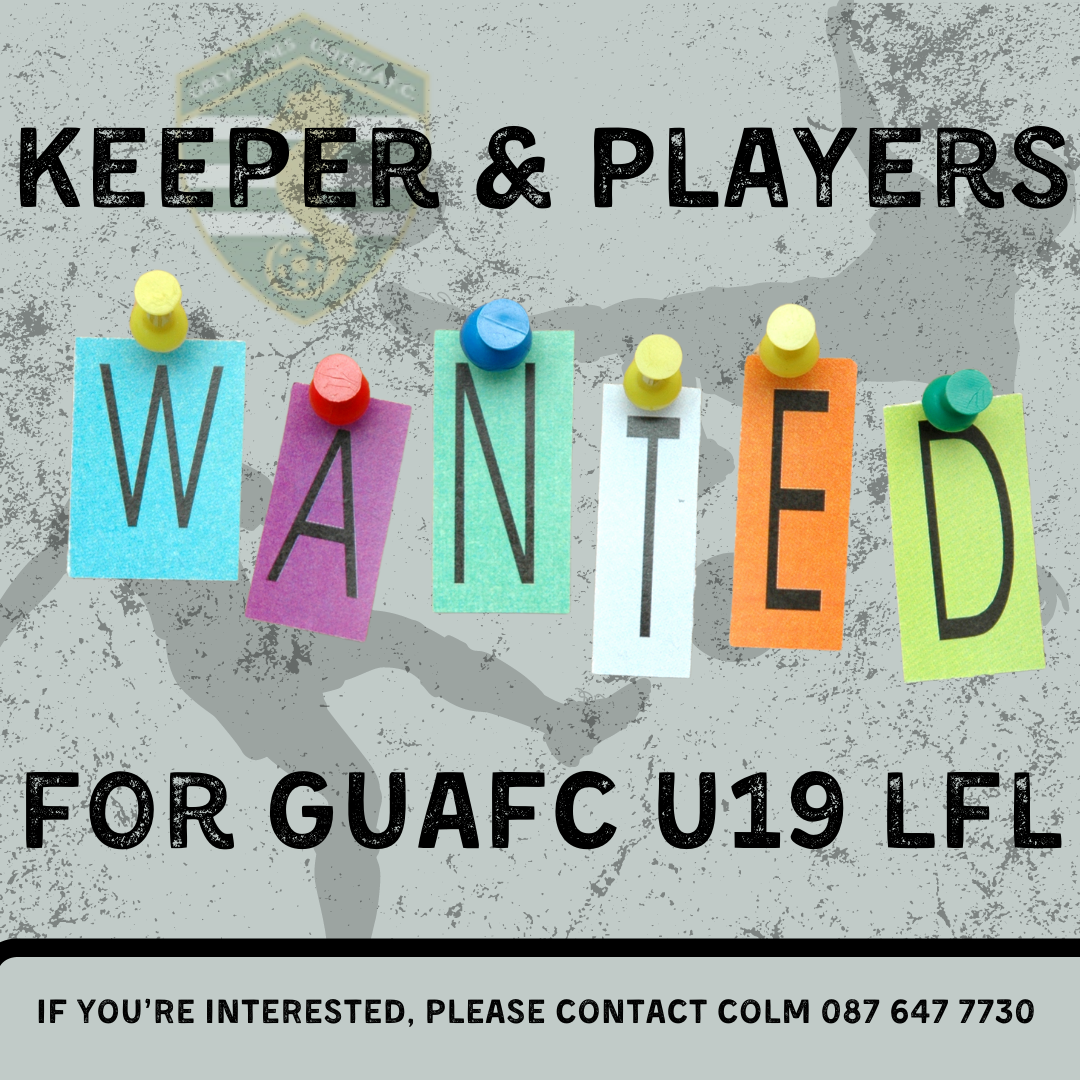 Keeper & Players wanted for U19 LFL