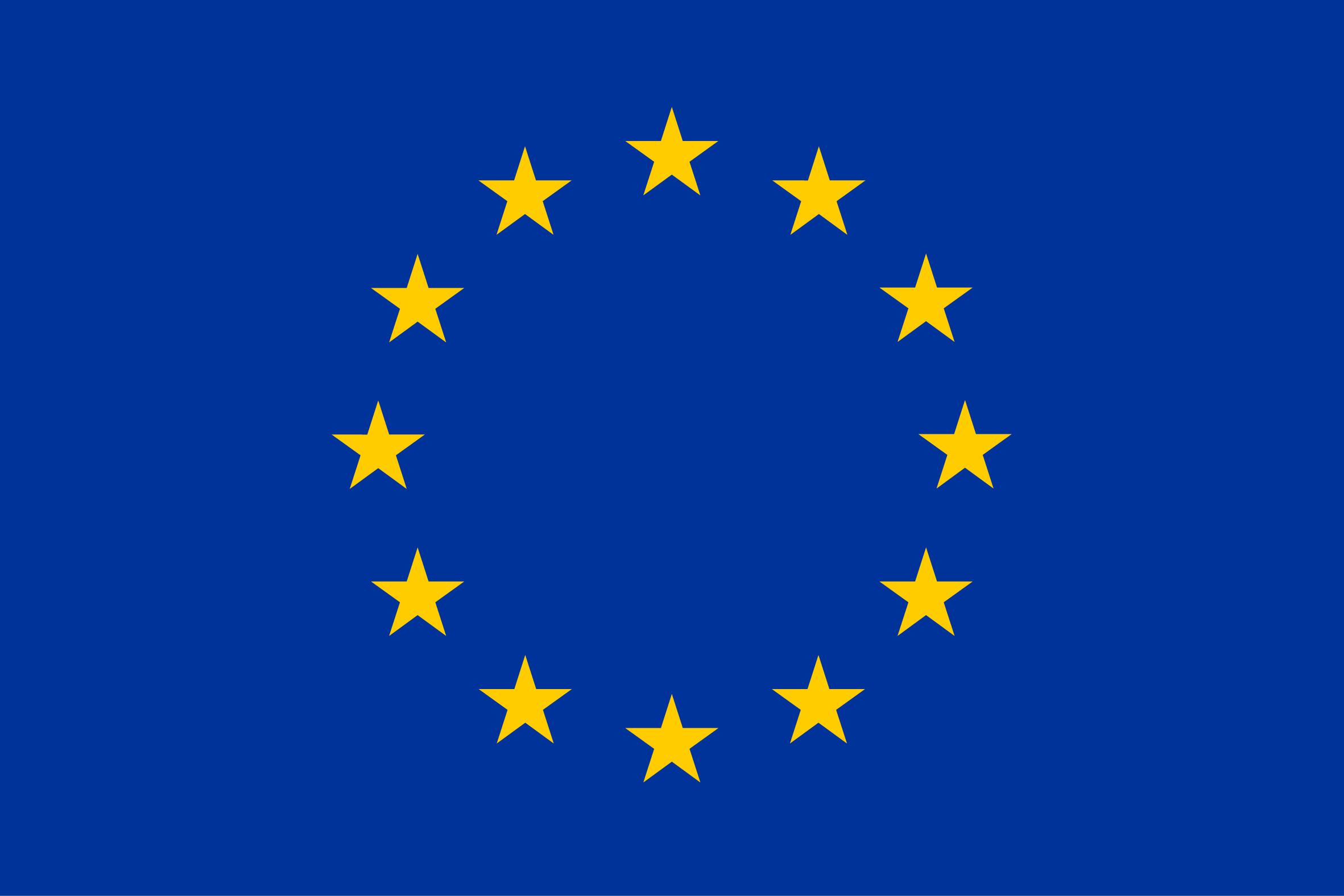 EU emblem.