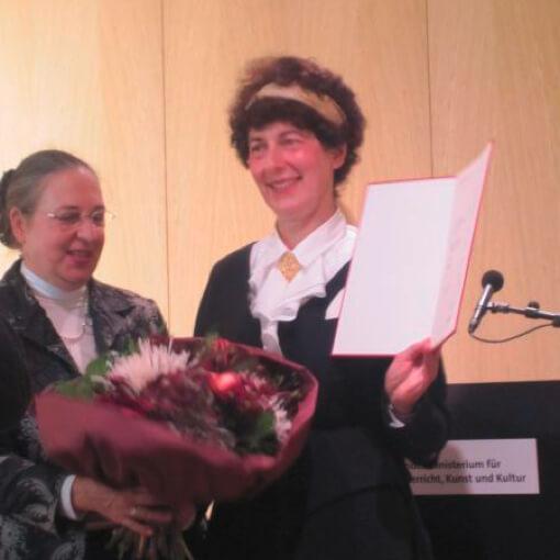 2010 Verleihung des Professortitels an Karen De Pastel