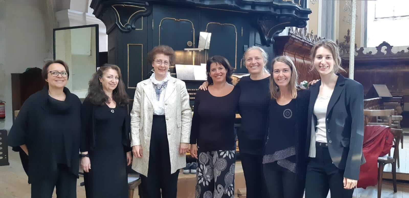 Ensemble O Musica Wien nach Gottesdienstgestaltung
