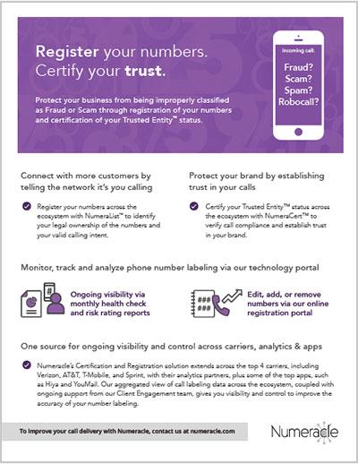 Certification & Registration