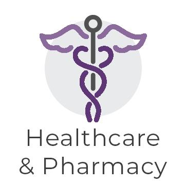 Healthcare & Pharmacy graphic