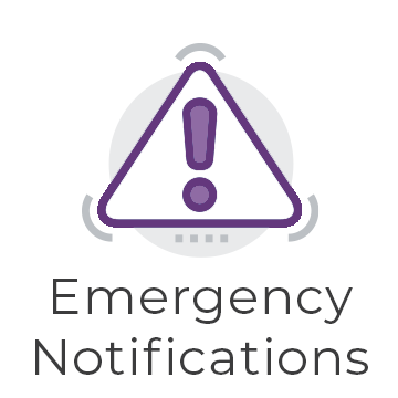 Emergency Notifications graphic