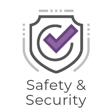Safety and security graphic