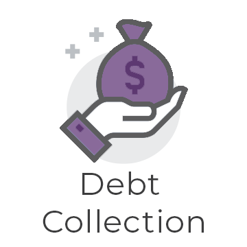debt collection graphic
