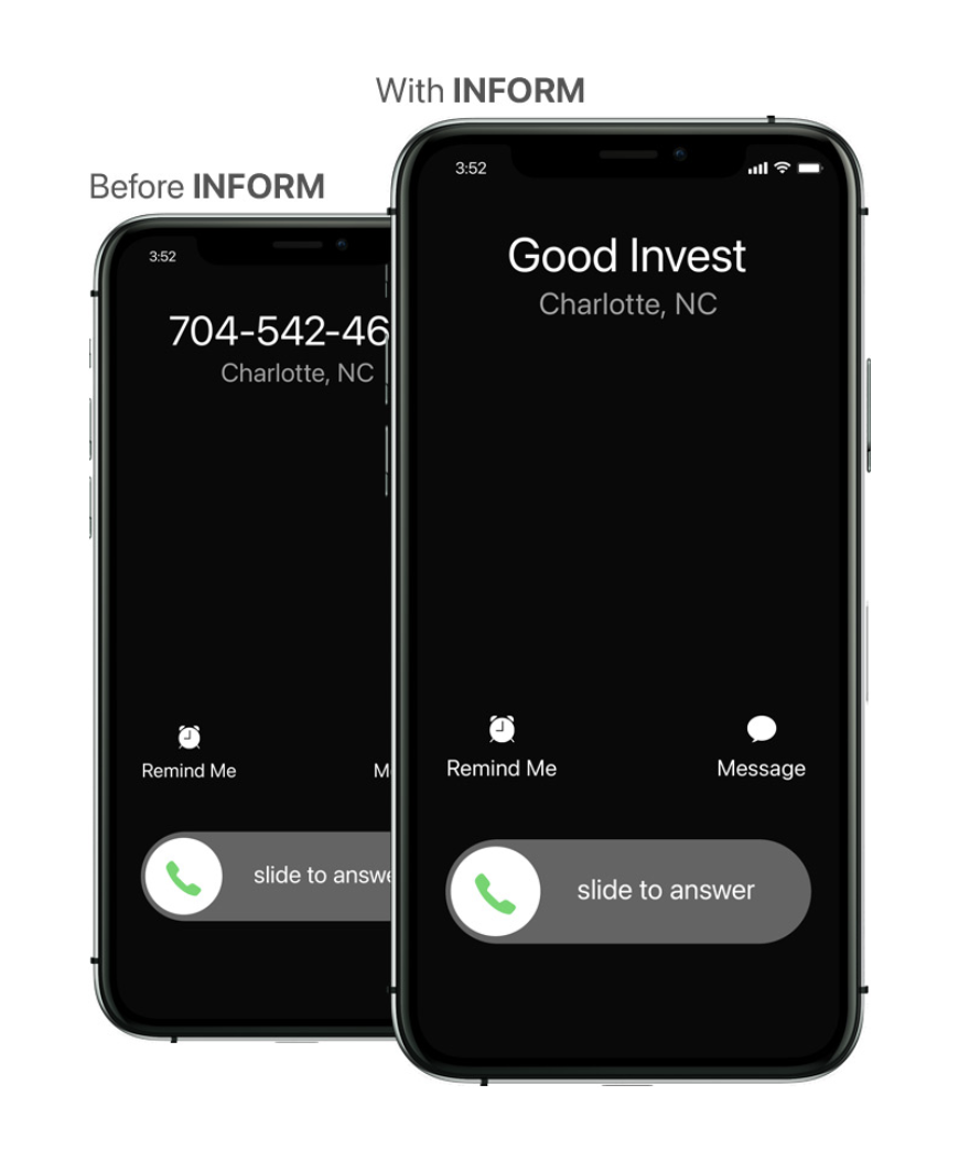 First Orion Inform phones
