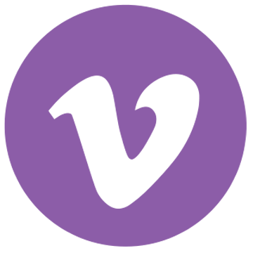Vimeo Logo Purple
