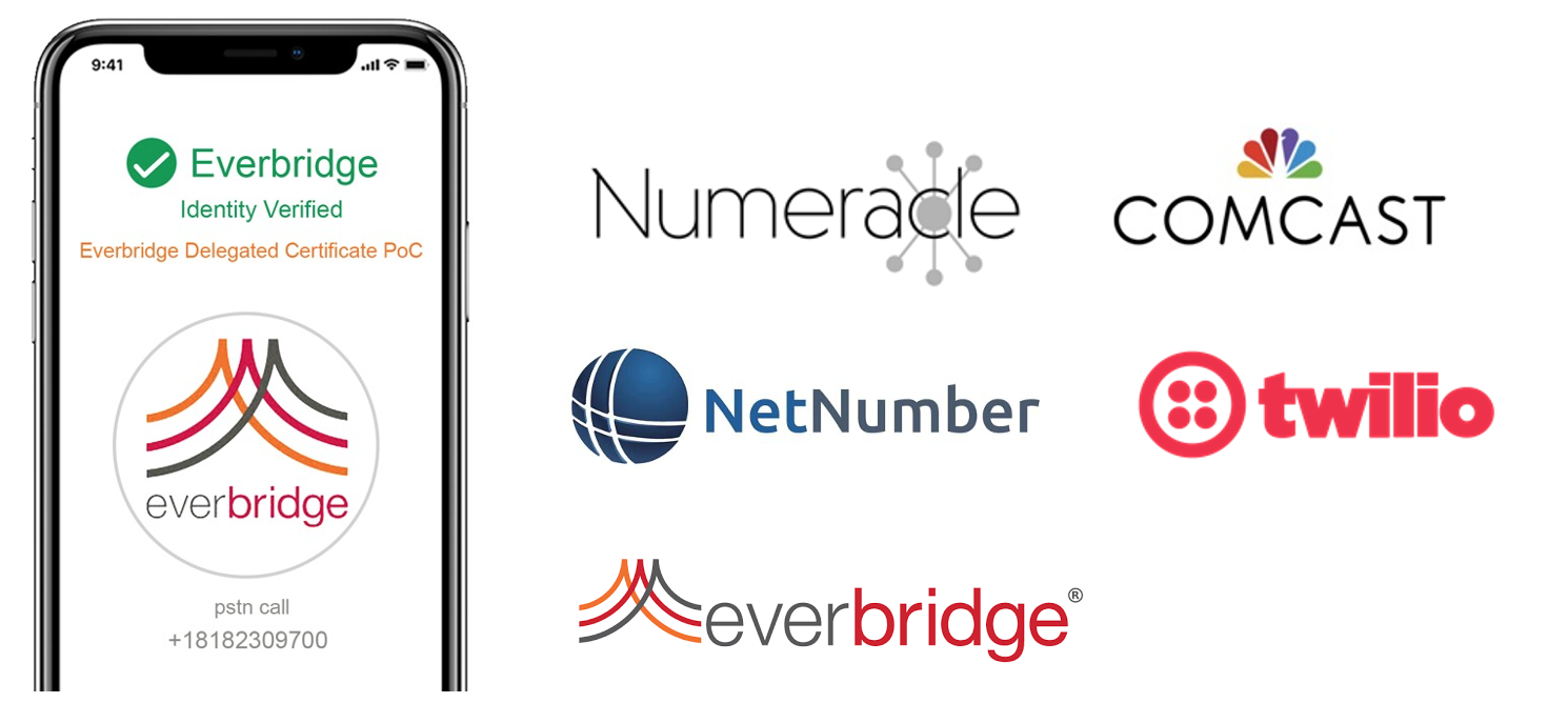 Proof of Concept including Numeracle, NetNumber, Comcast, Twilio and Everbridge to present RCD data for branded calling solutions