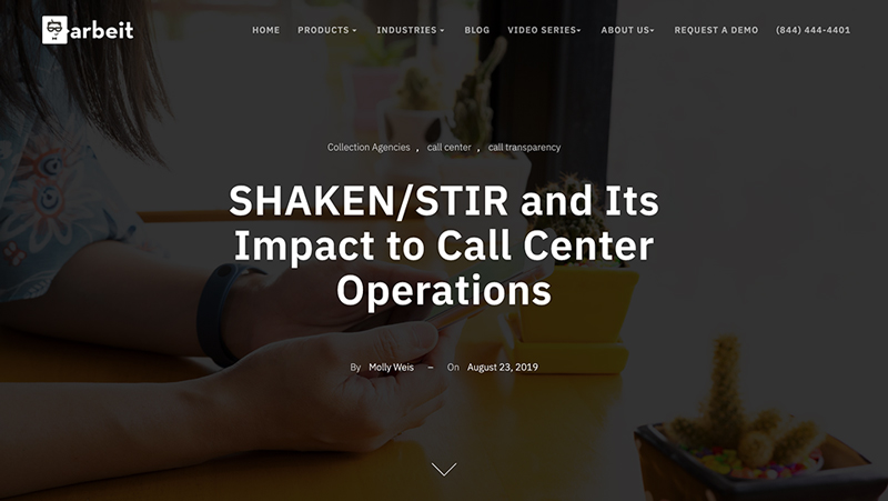 SHAKEN/STIR and Its Impact to Call Center Operations