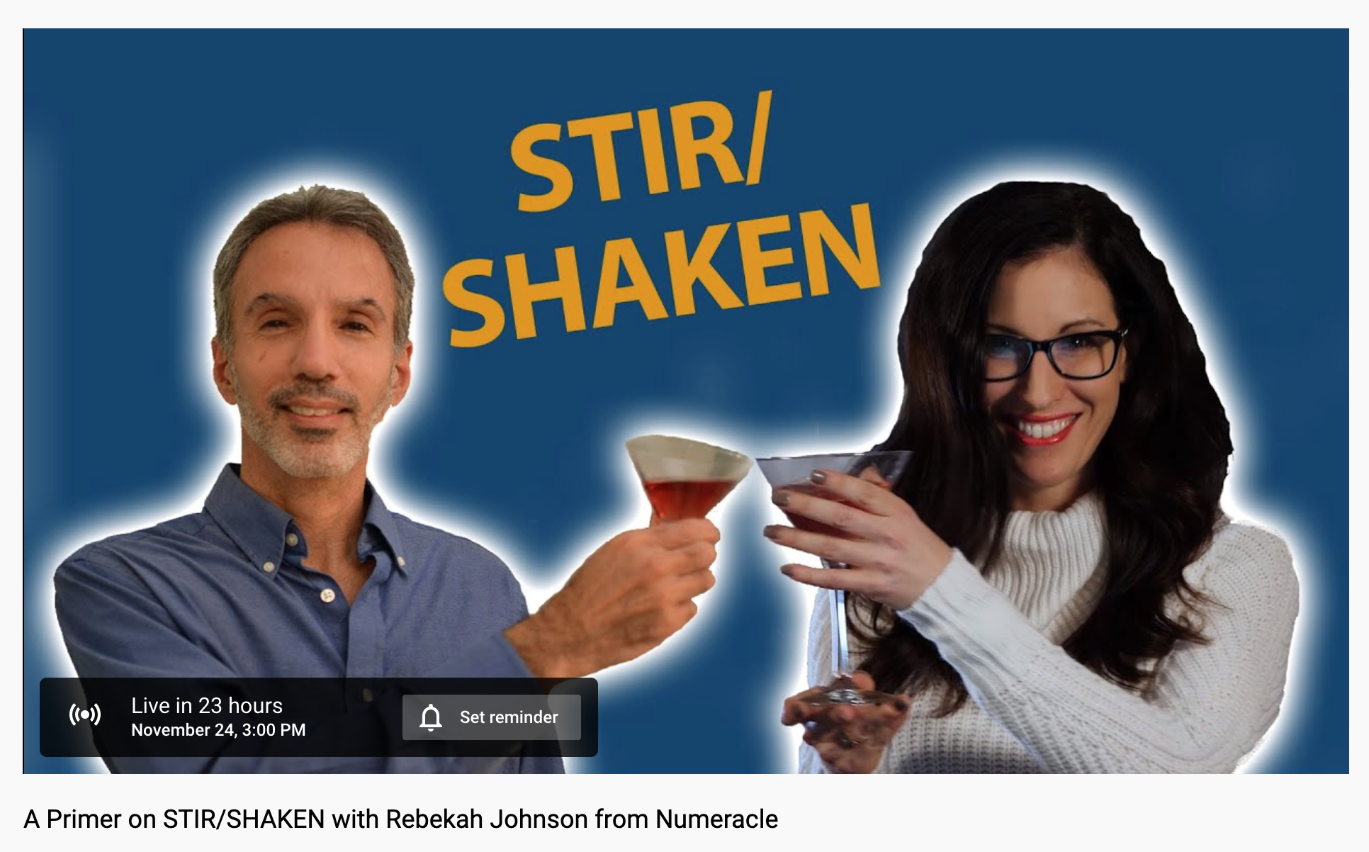 A Primer on STIR/SHAKEN with Rebekah Johnson from Numeracle