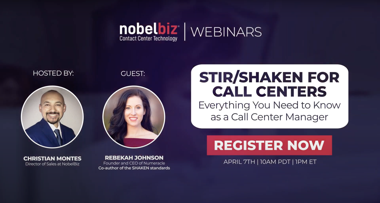 STIR/SHAKEN for Call Centers Webinar