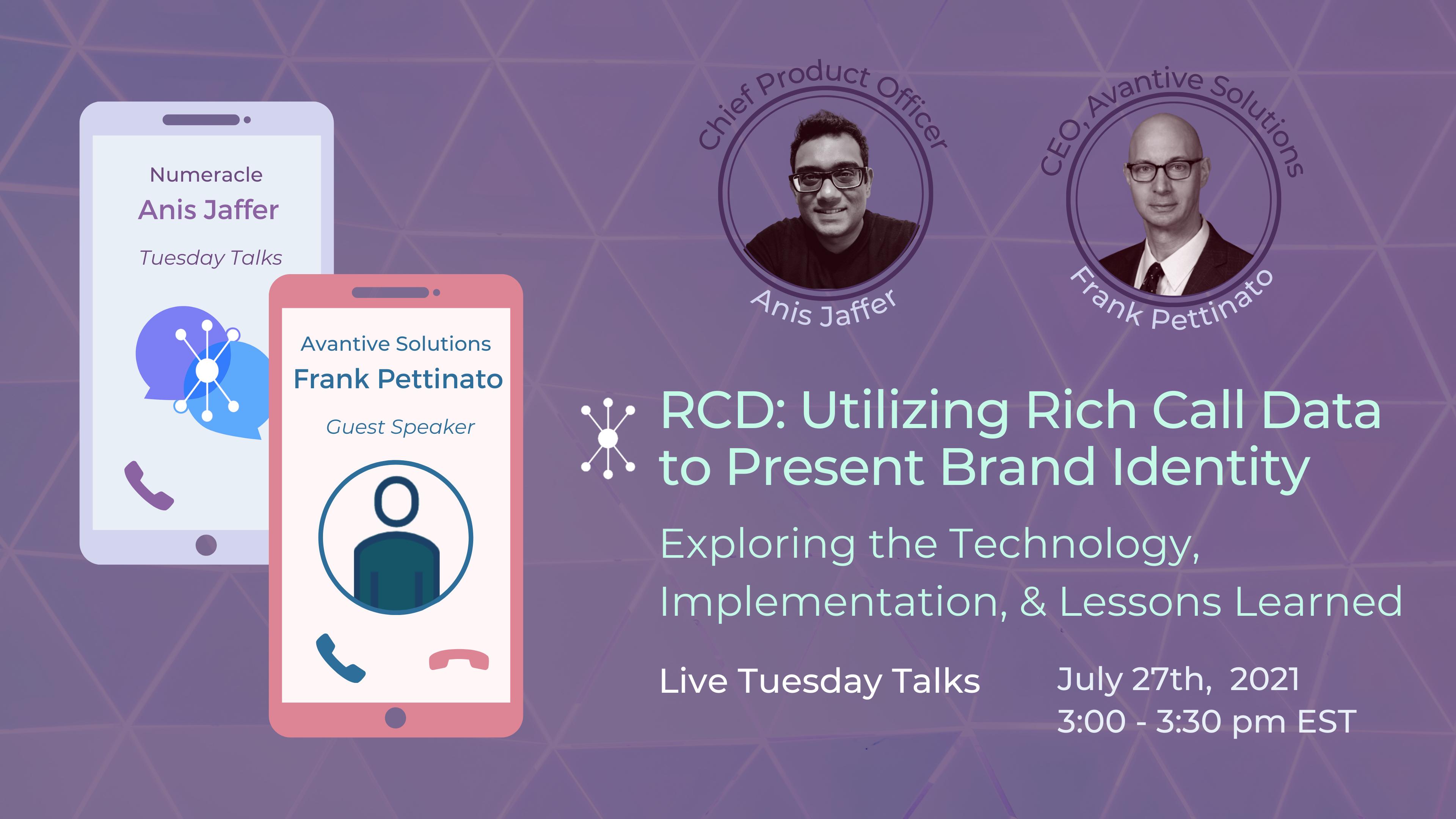 RCD: Utilizing Rich Call Data to Present Brand Identity