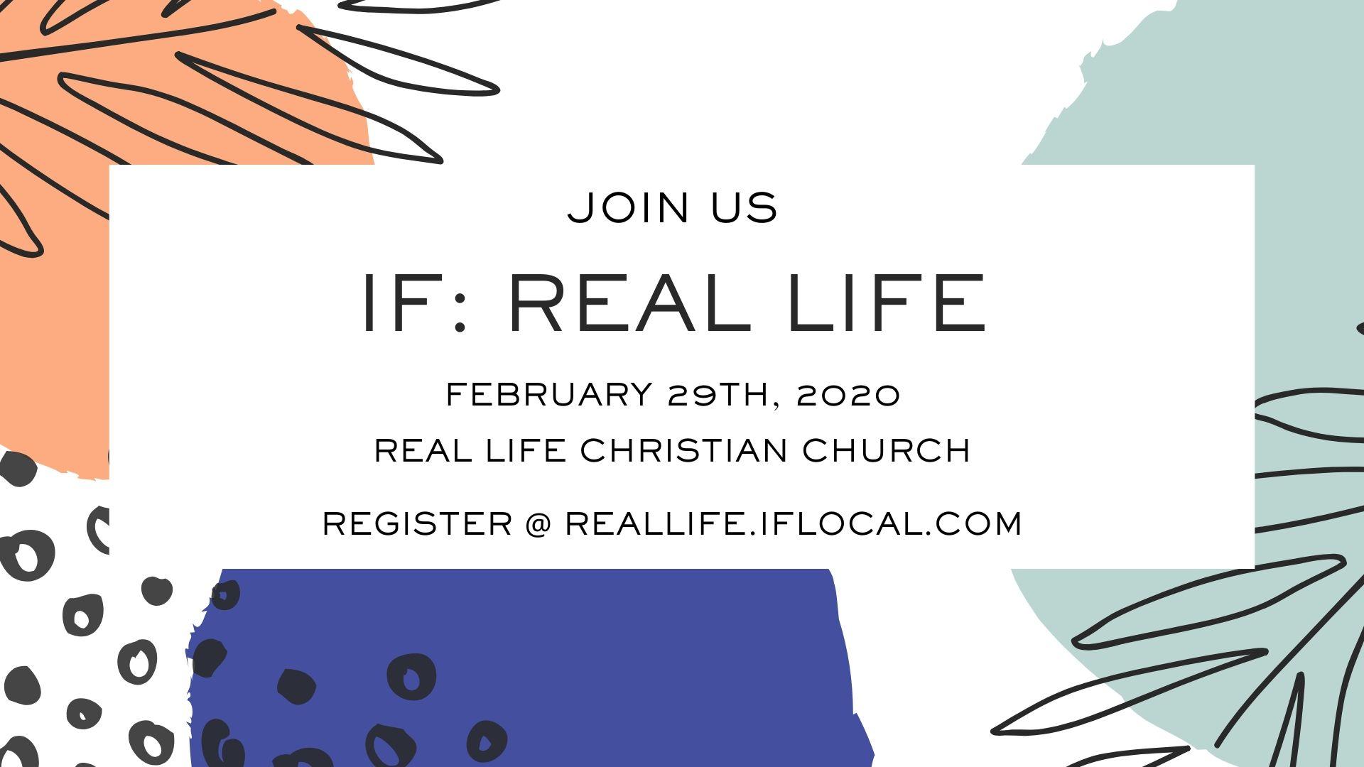 IF:Real Life