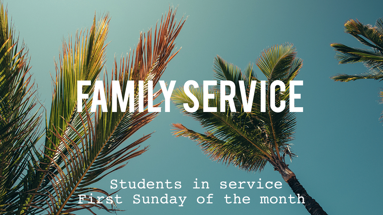 March Family Service