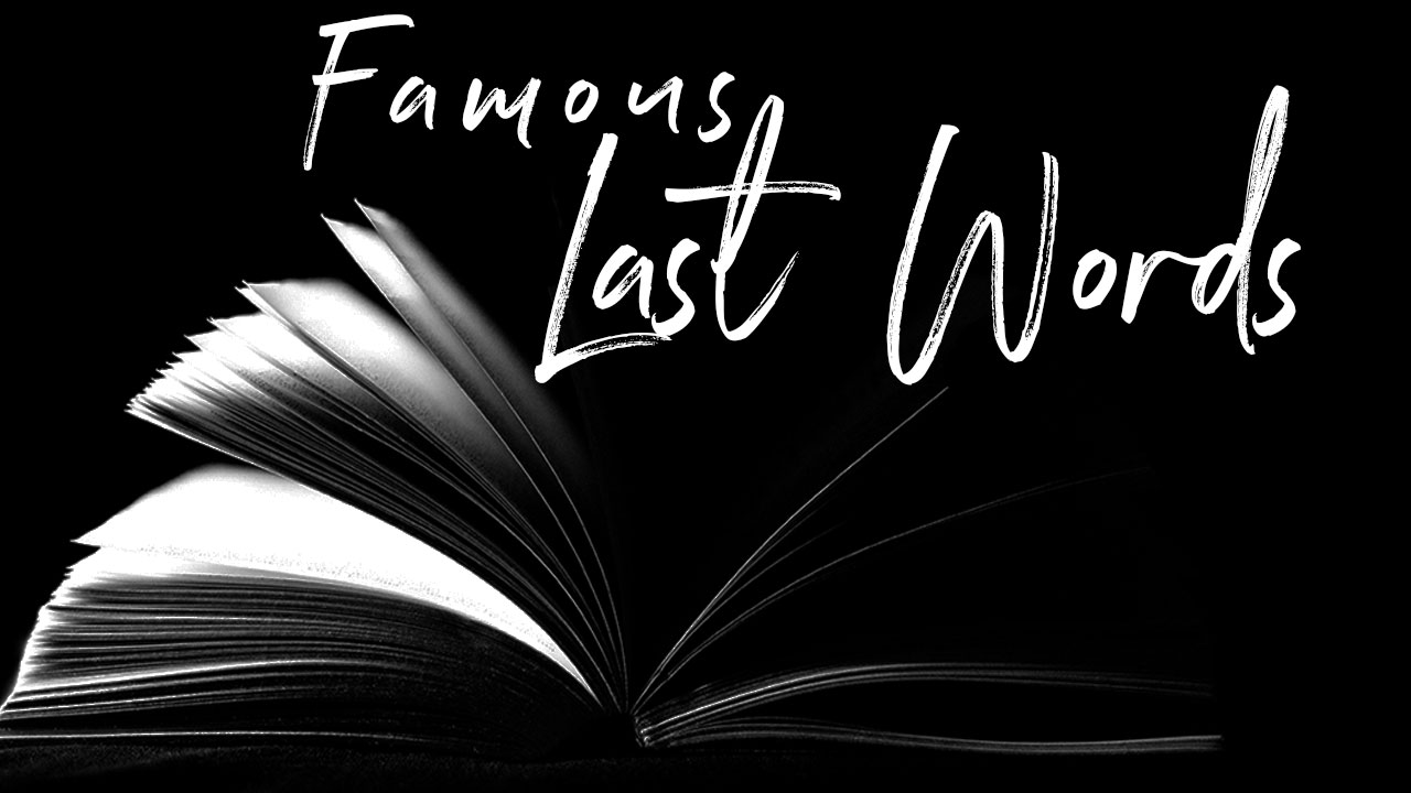 Famous Last Words - To Us