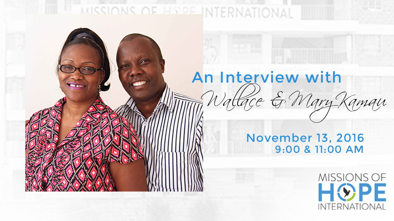 Interview with Wallace & Mary Kamau