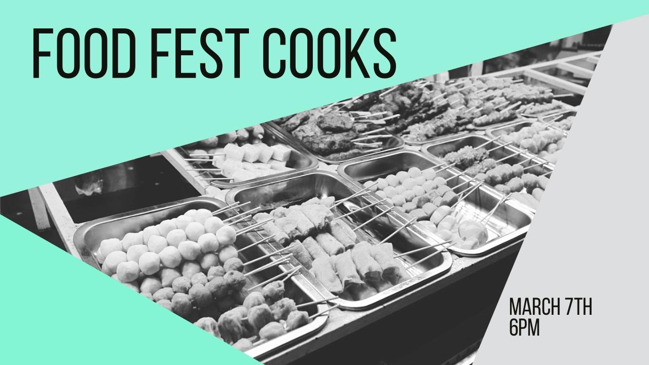 Food Fest Cooks Needed