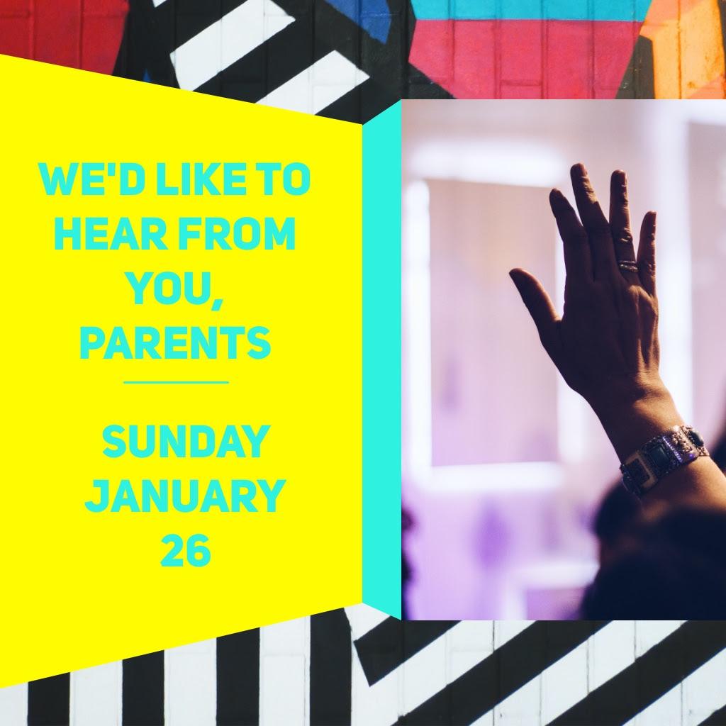 Transit Parents Meeting