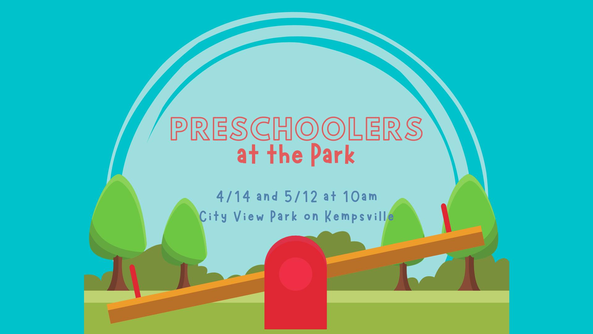 Preschoolers at the Park