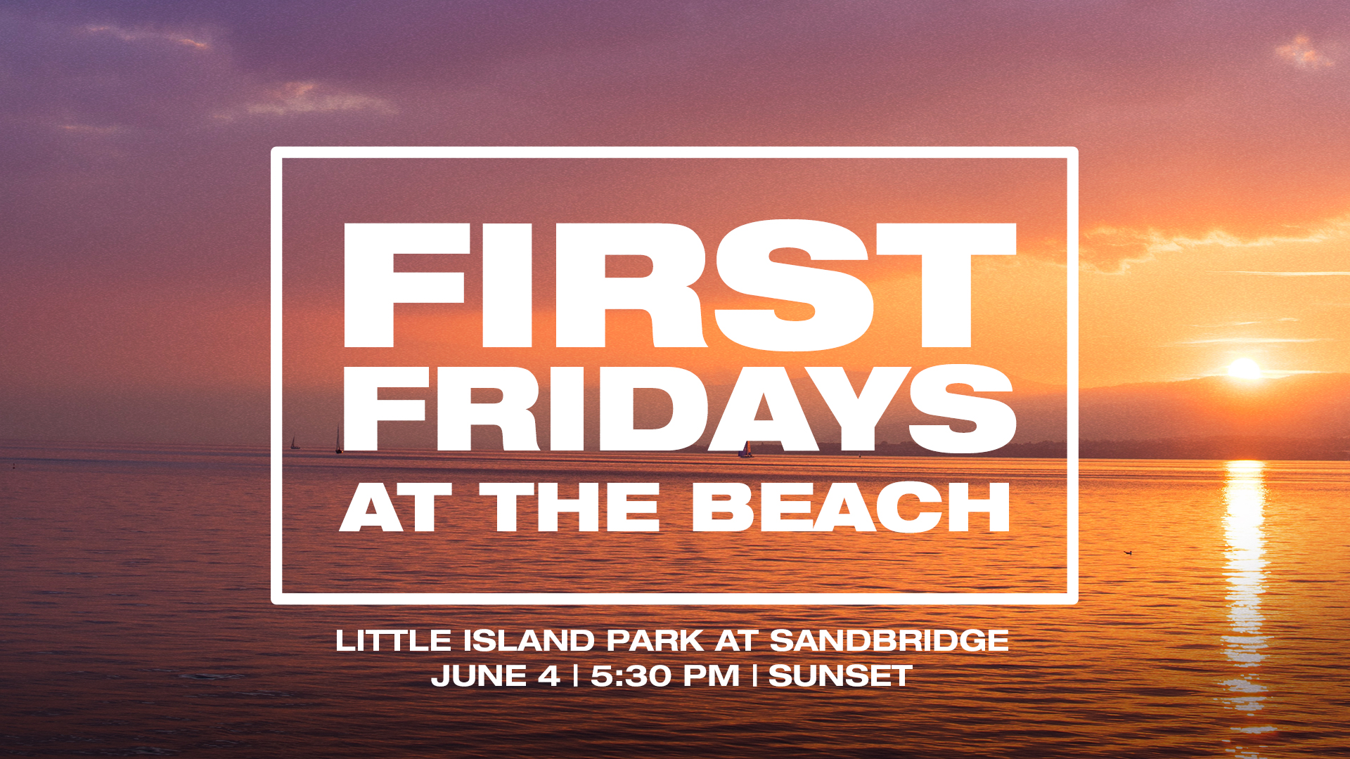 First Fridays at the Beach