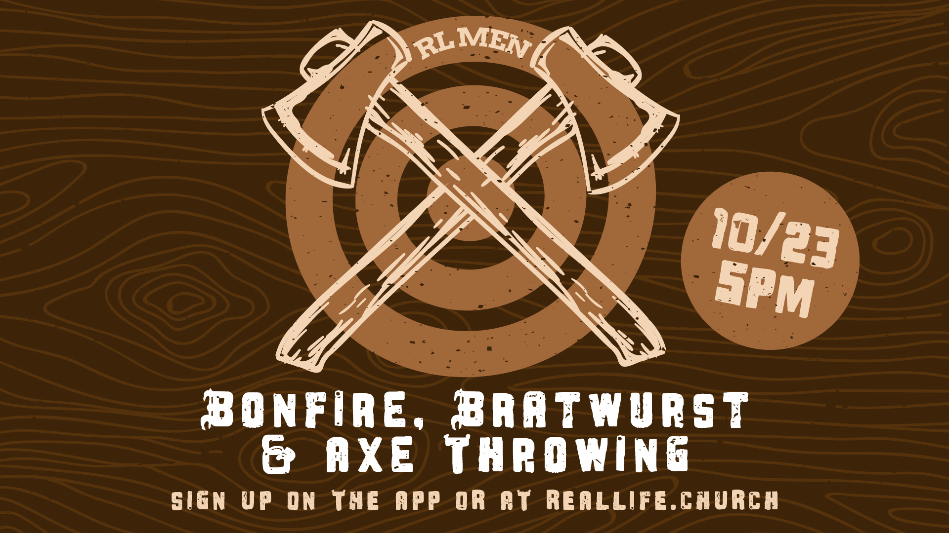 Bonfire, Bratwurst and Axe Throwing