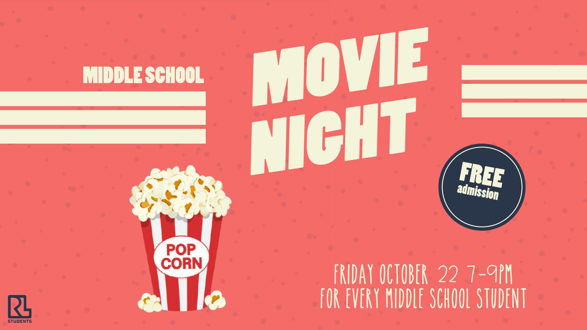 Middle School Movie Night
