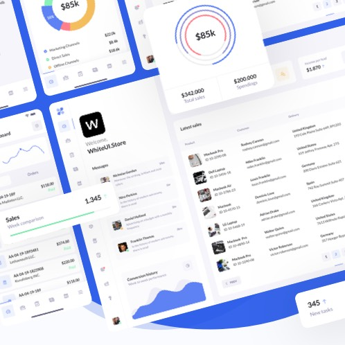 We launched BetaCRM Web UI Kit