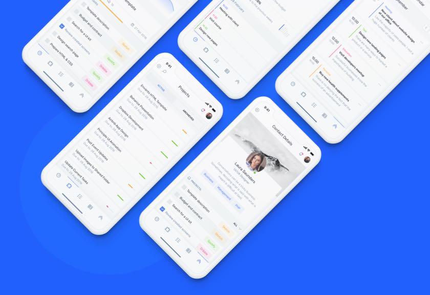 IOTask Mobile UI Kit