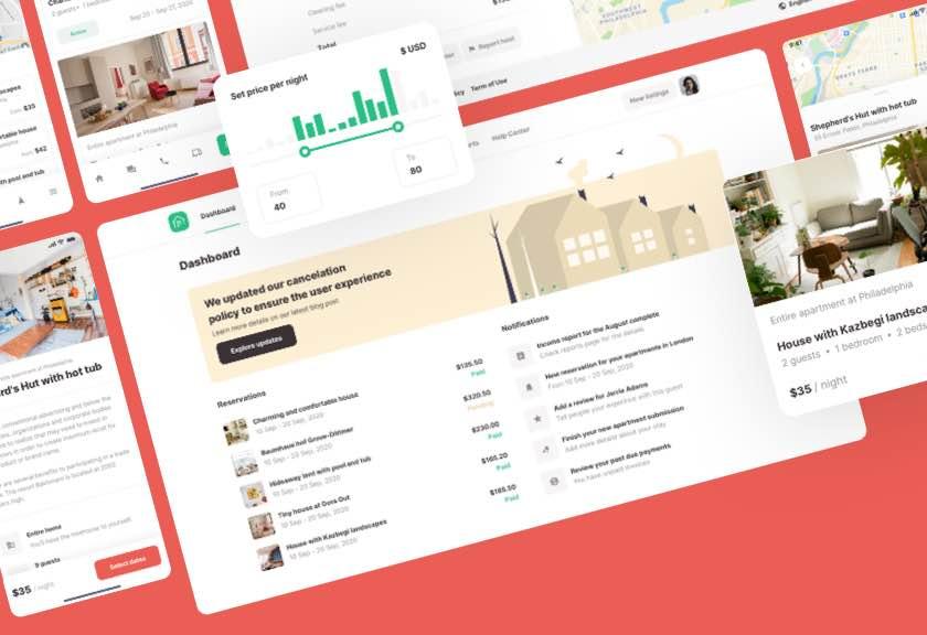 Roomsfy UI Kit