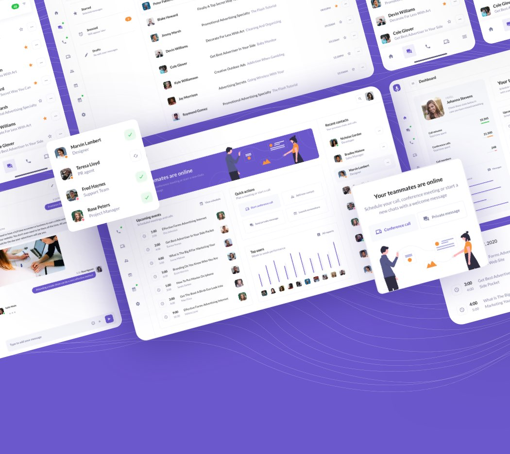 BetaCall UI Kit