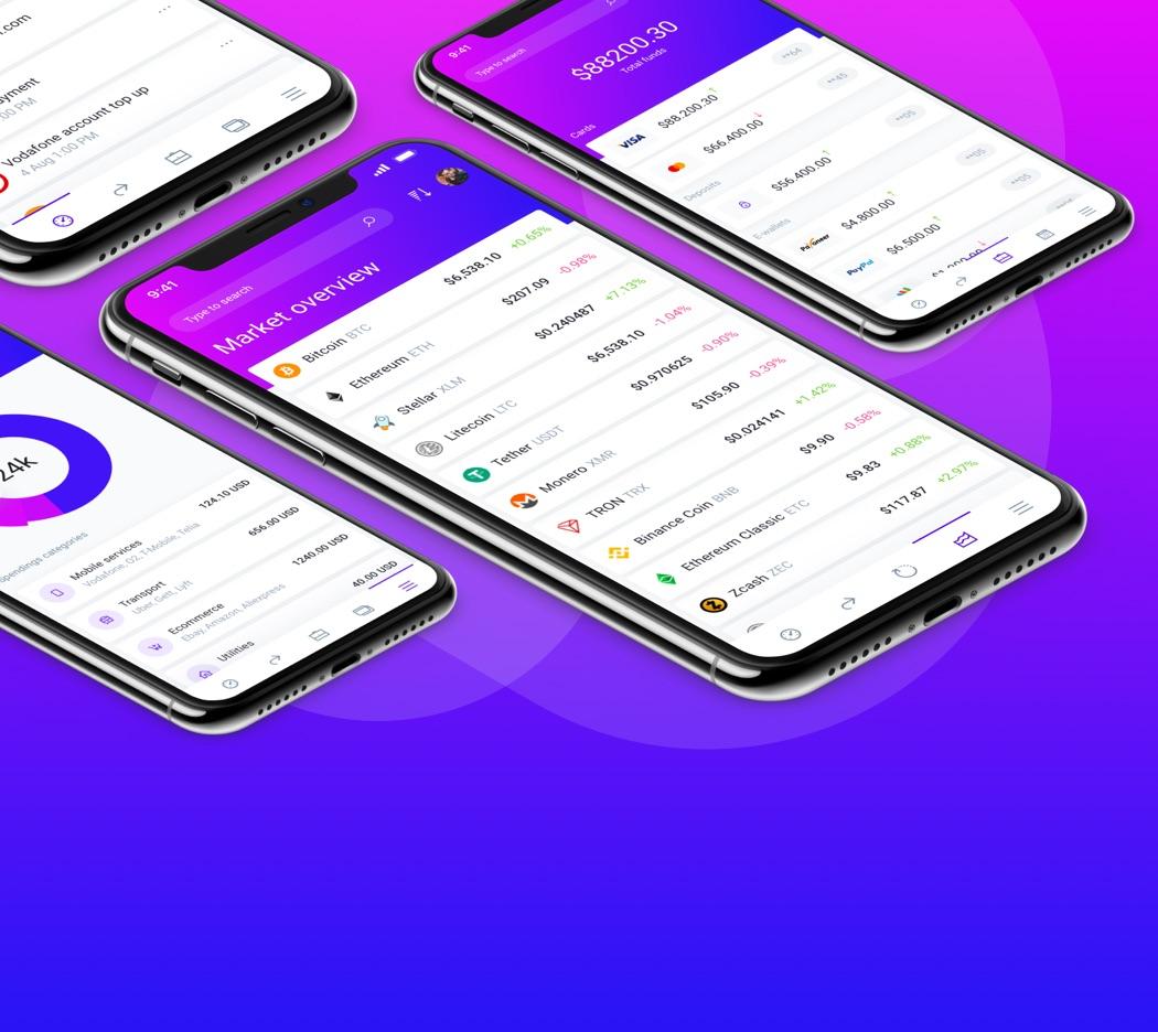 IOWallet Mobile UI Kit