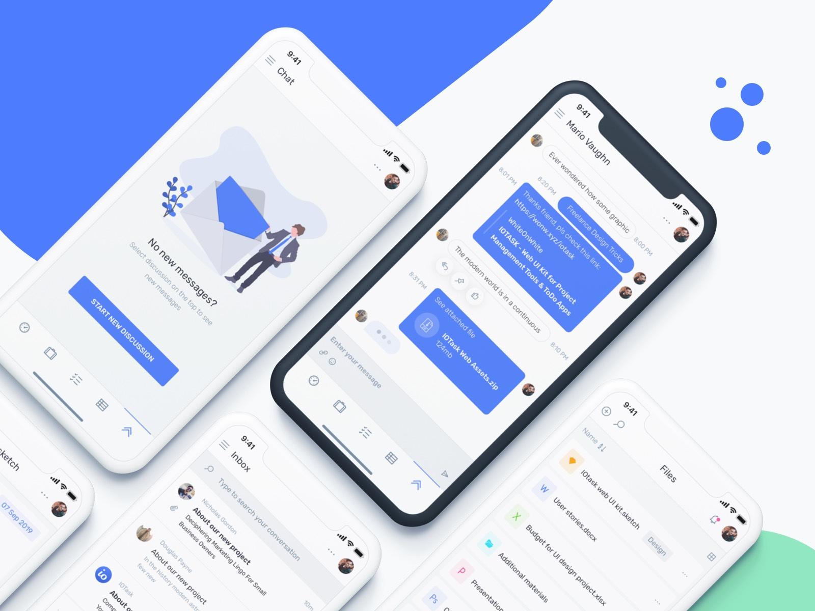 IOTask Mobile UI Kit updated!