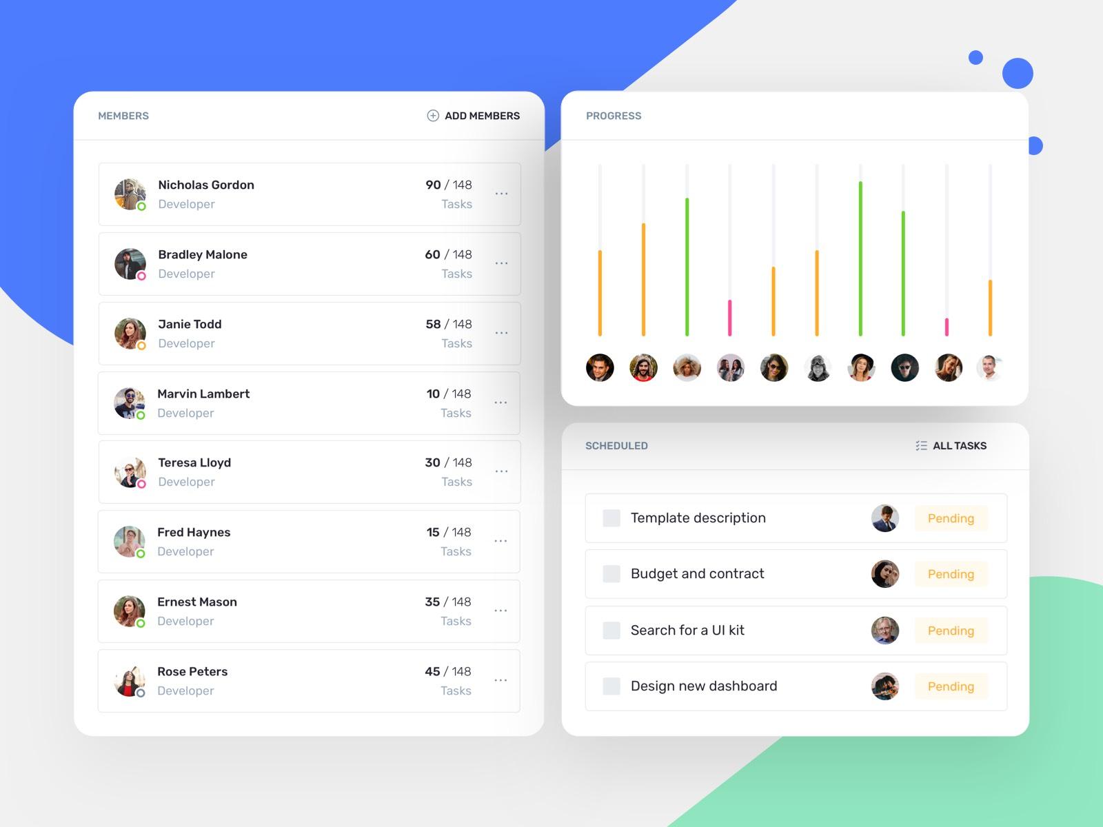 IOTask Web UI Kit Update is here