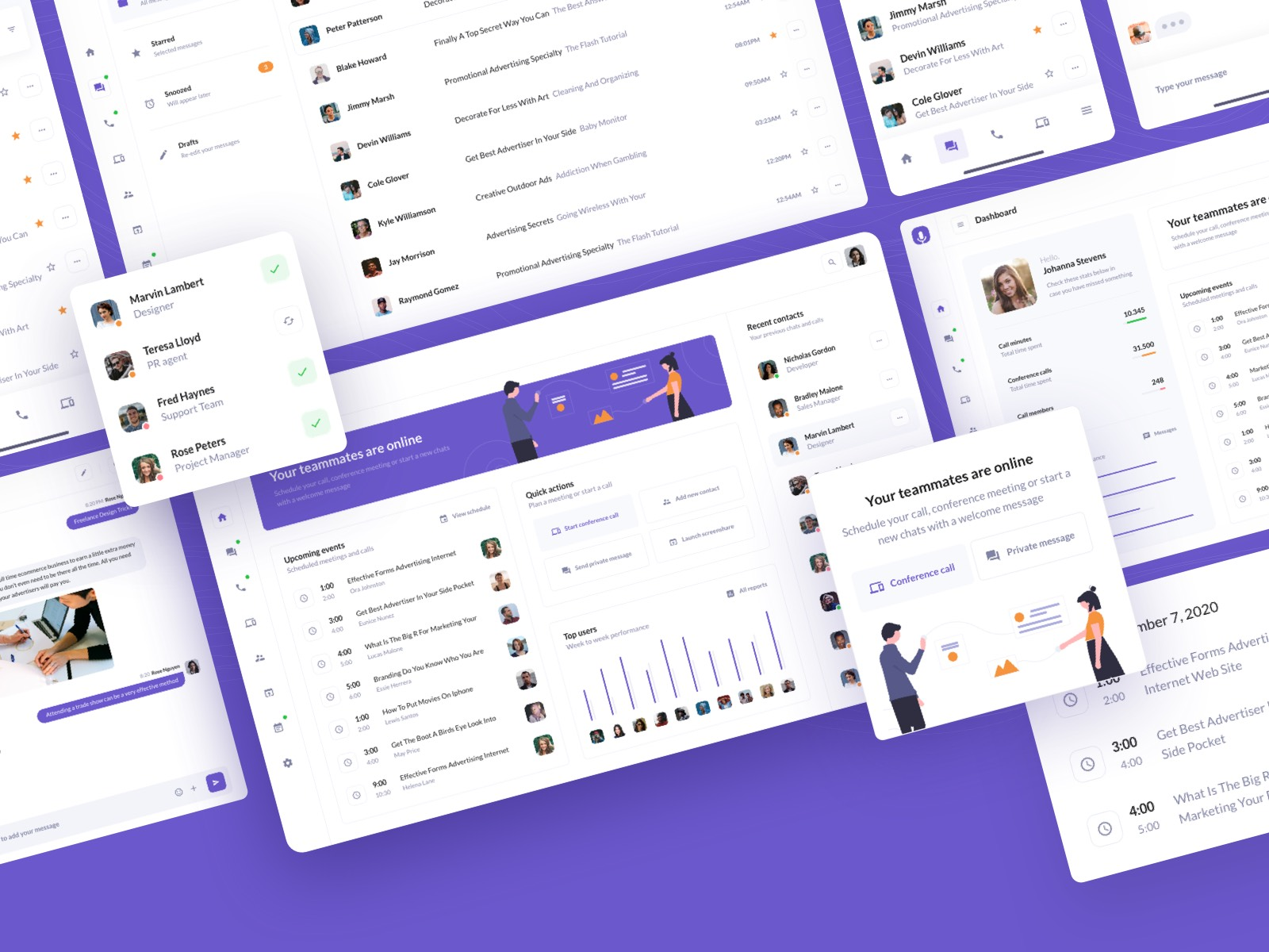 BetaCall Web & Mobile UI Kit is Here  🎊🎉