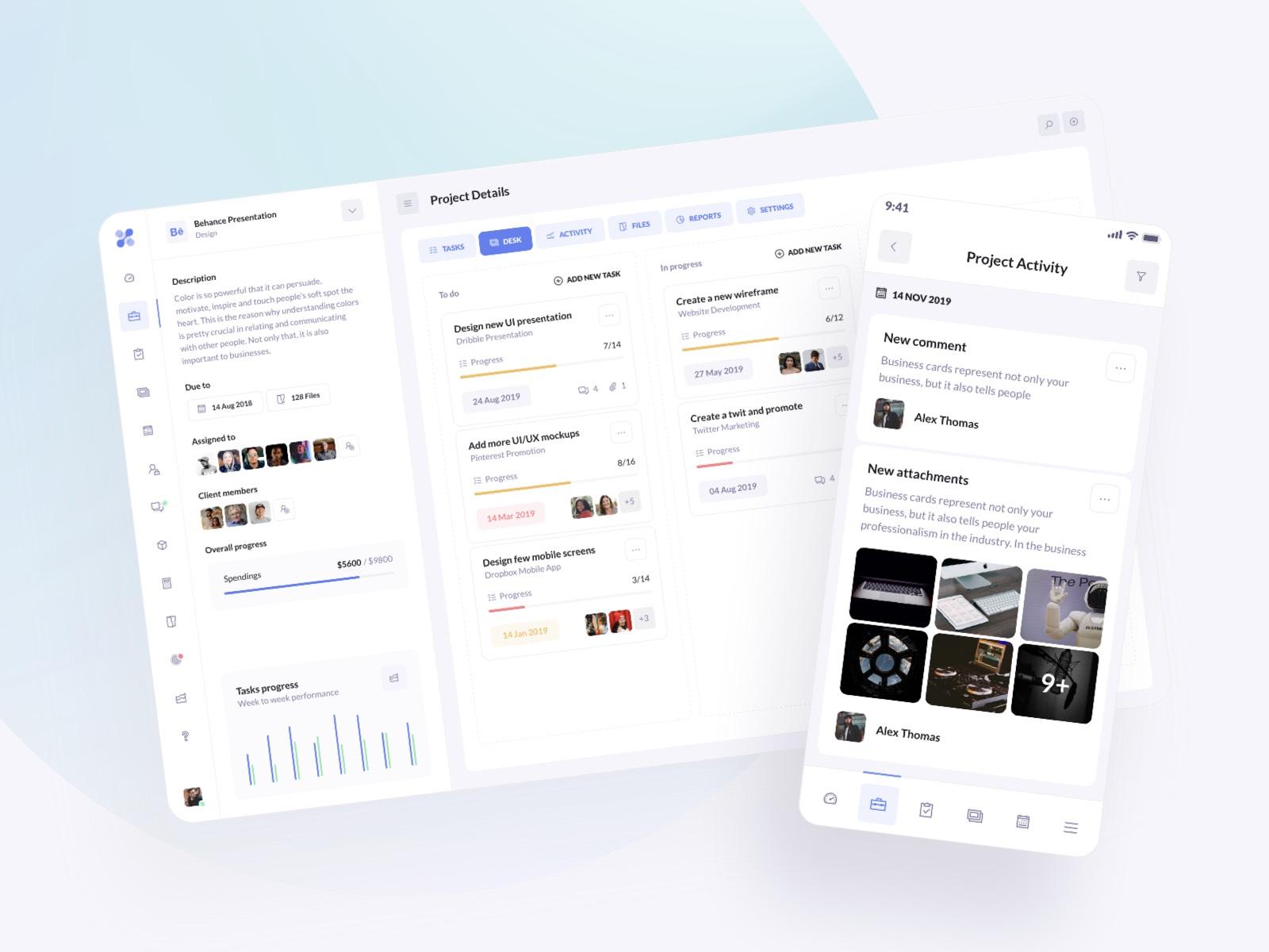 We launched BetaCRM Web UI Kit
