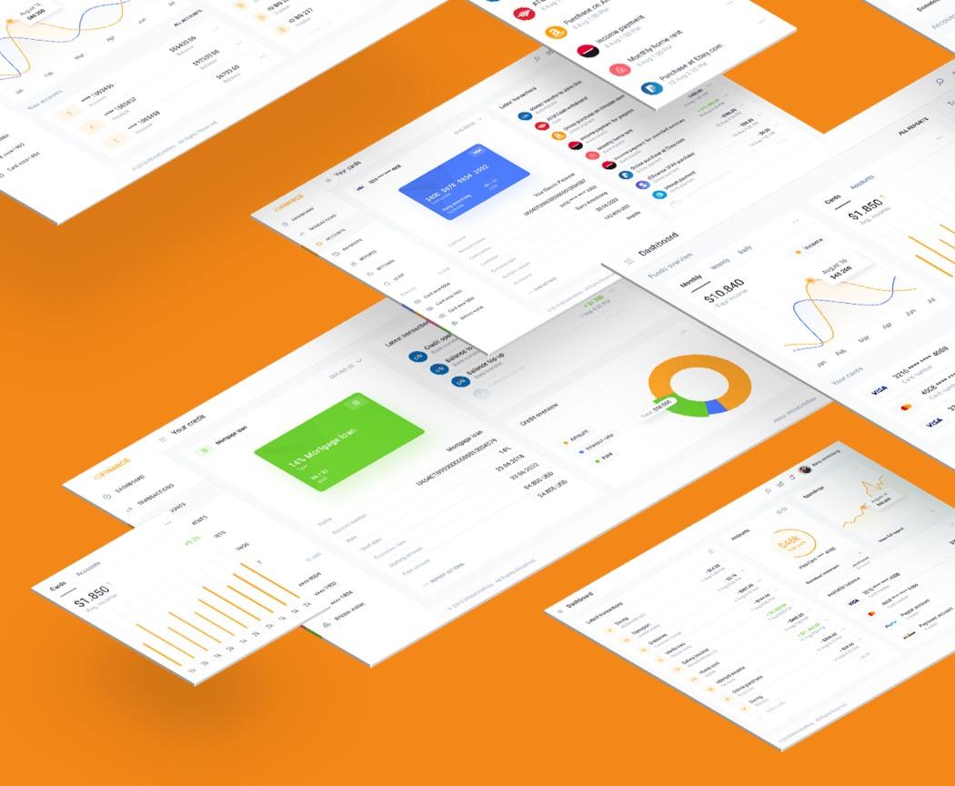 IOFinance Web UI Kit