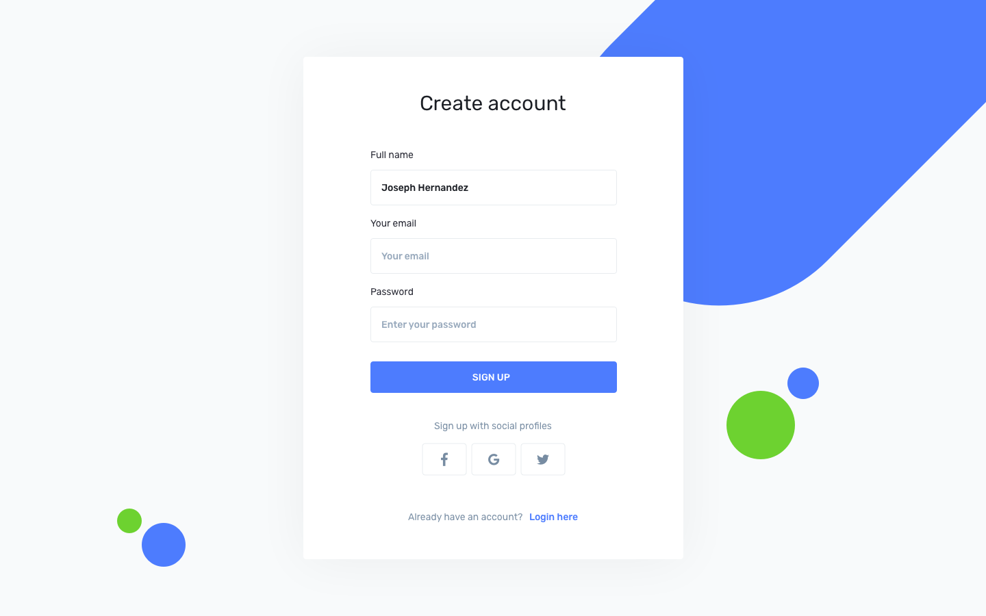 iotask preview create account