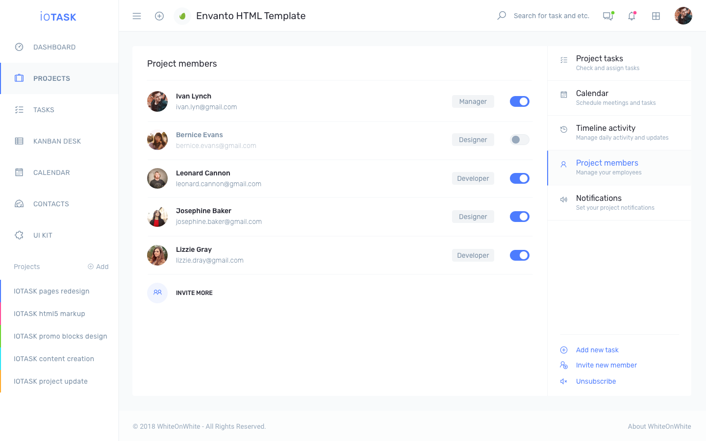 iotask preview project management