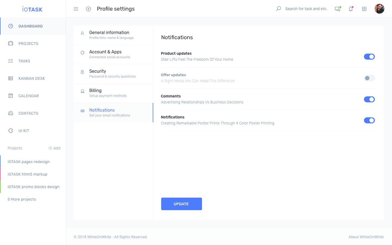 iotask preview profile