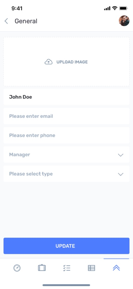 iotask preview contacts