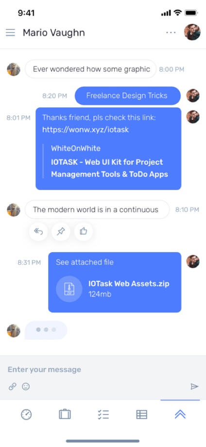 iotask preview chat