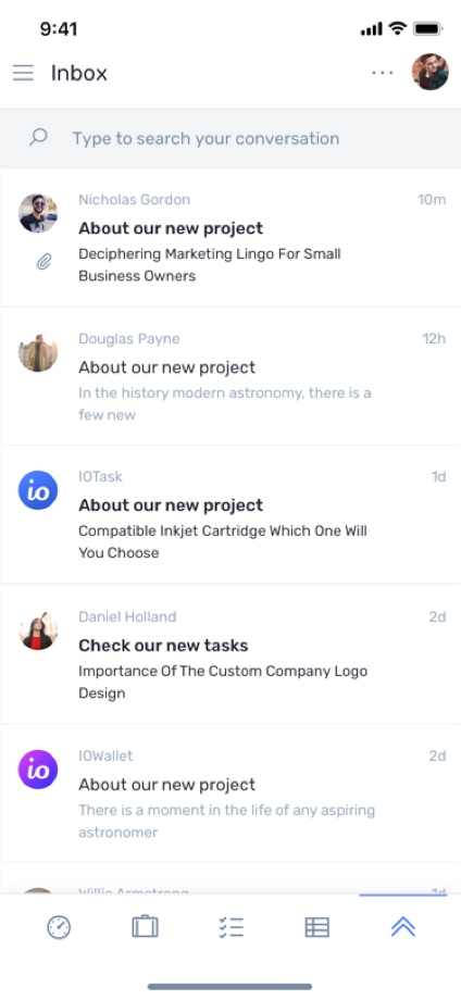 iotask preview inbox