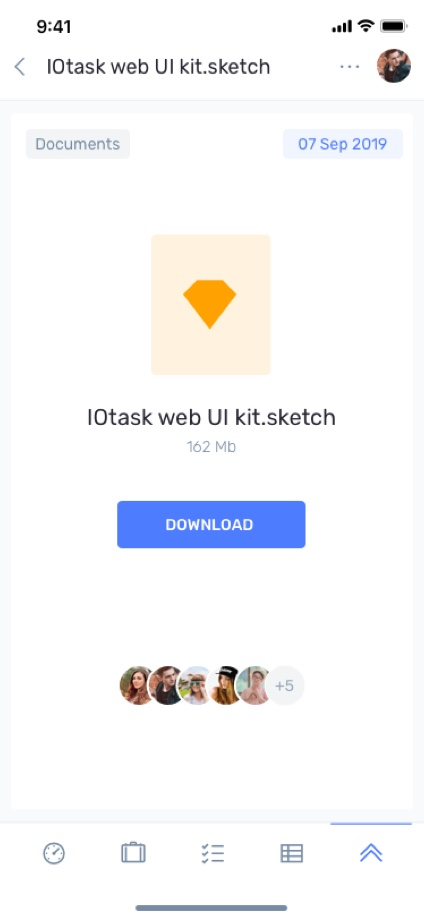 iotask preview files