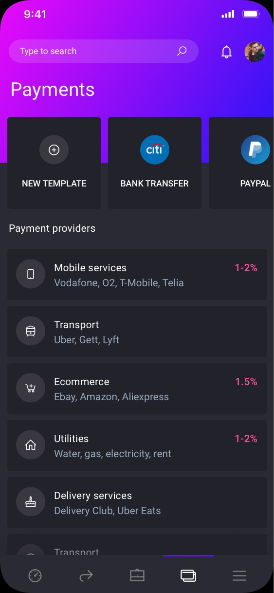 iowallet Banking for Individuals preview